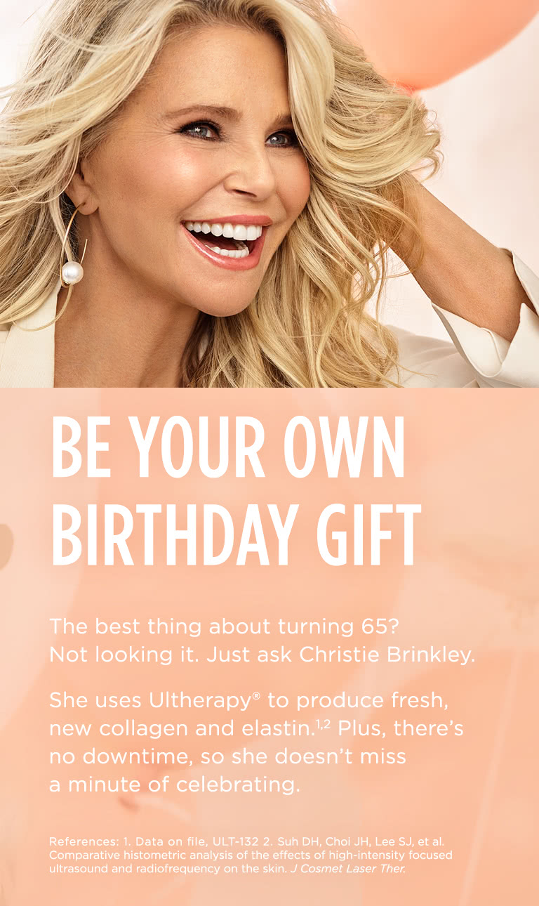 Christie Brinkley 65th birthday photoshoot